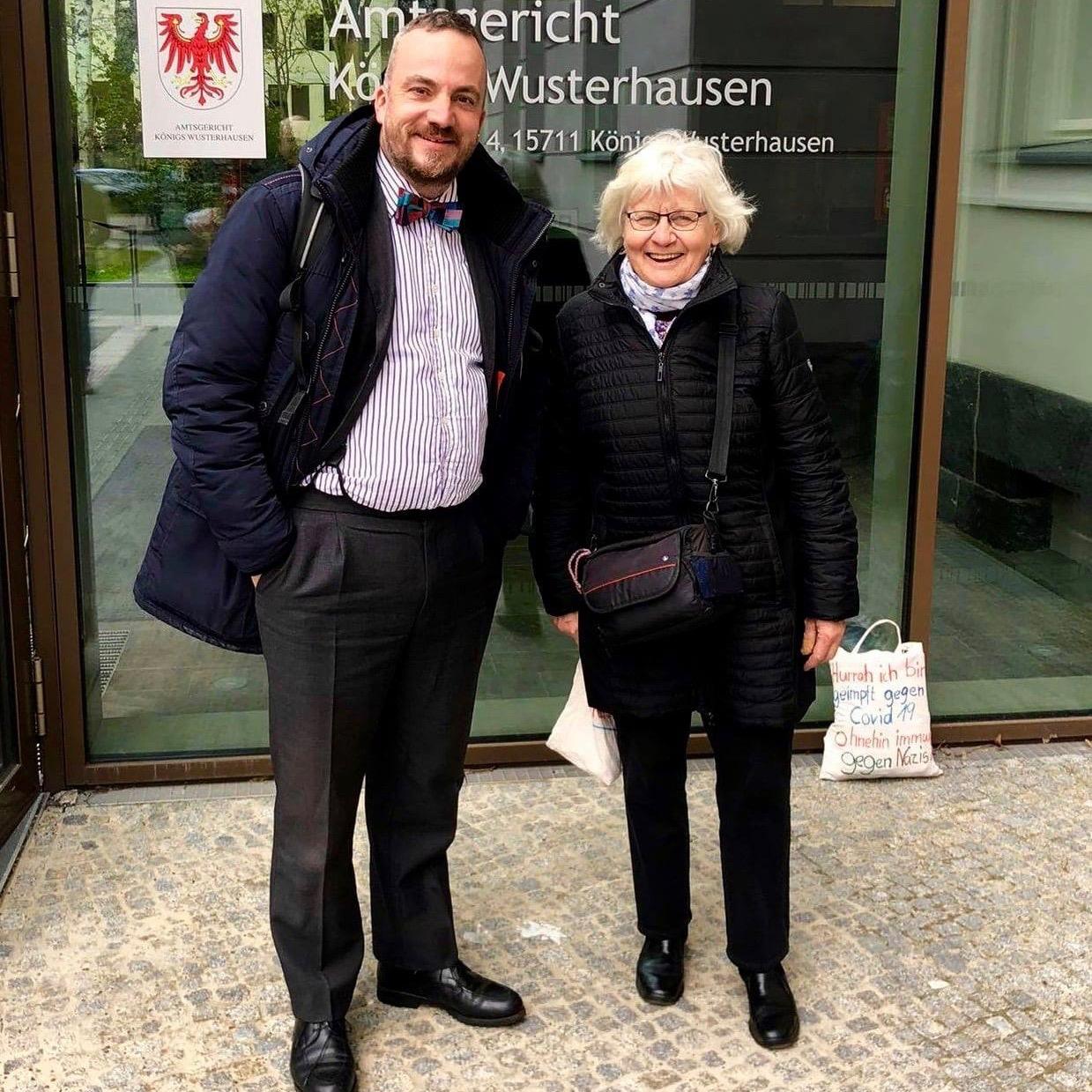 Irmela Mensah-Schramm u. Gerhard Rahn